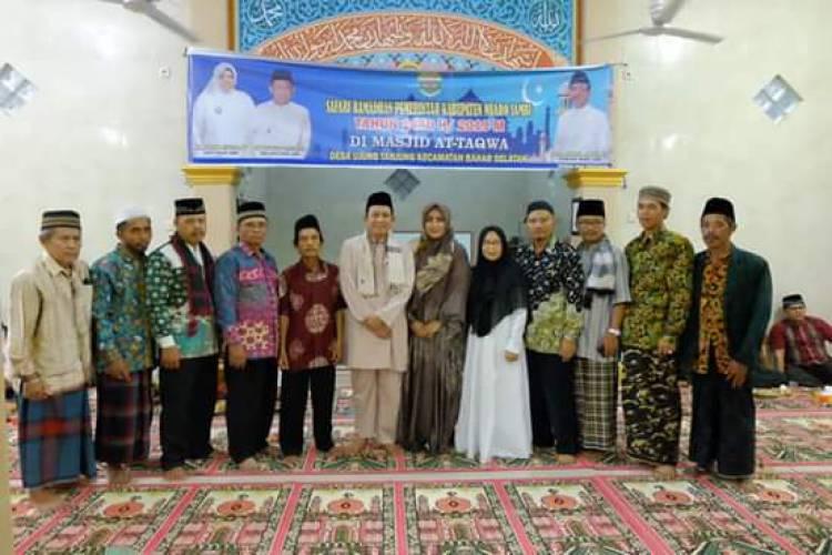 Wabup Muarojambi Safari Ramadhan di Desa Ujung Tanjung