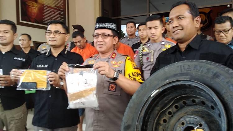 Polisi Jambi Gagalkan Penyelundupan Sabu Rp1,2 Miliar