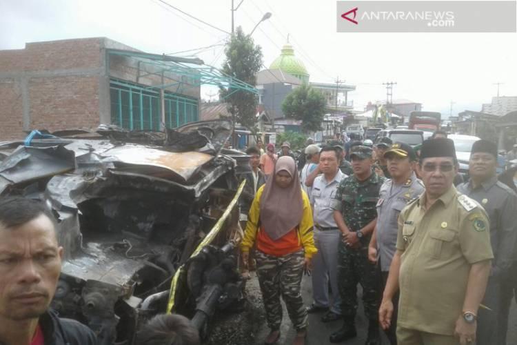 Mobil Terbakar Dua Warga Kota Lubuklinggau Tewas