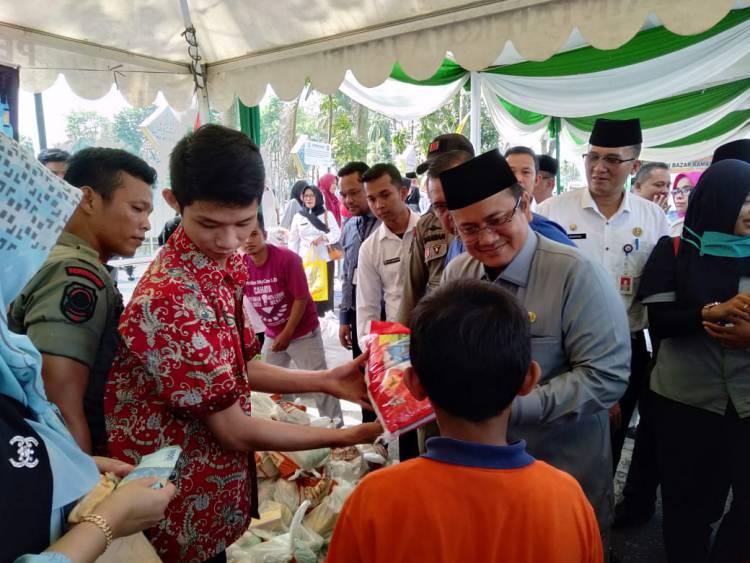 Ringankan Warga Jambi Sambut Idul Fitri, Pemkot Gelar Pasar Murah