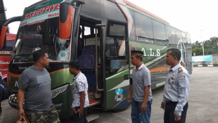 Jelang Lebaran, Jumlah Bus di Sarolangun Tembus 200 Unit Perhari