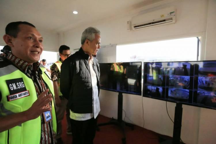 Tiket Pesawat Mahal Pemudik Bandara Semarang Menurun