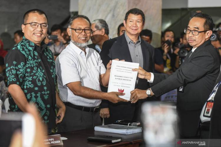 Ini Isi Permohonan Gugatan Prabowo-Sandiaga ke MK