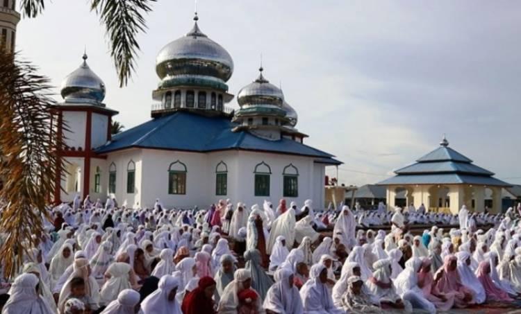 Pengikut Tarikat Syatriyah di Aceh Sudah Rayakan Idul Fitri