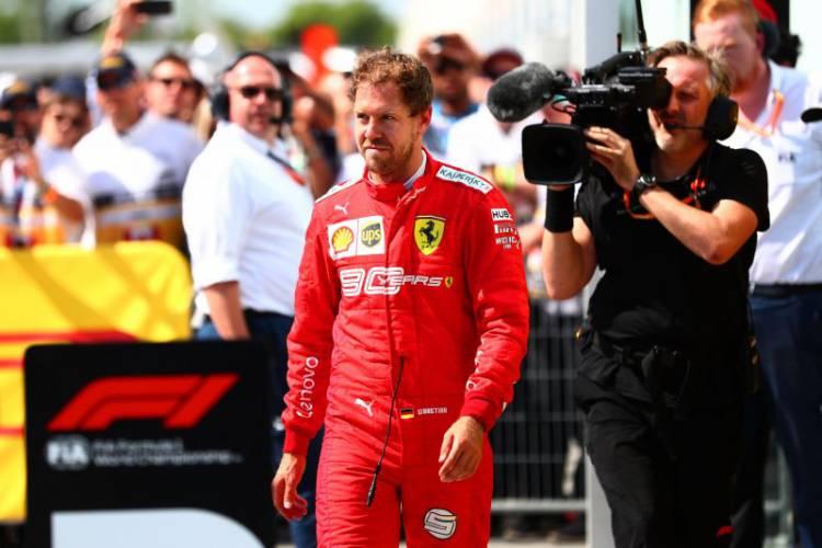 Finis Kedua Karena Penalti, Ferrari Tetap Junjung Vettel Sebagai Juara