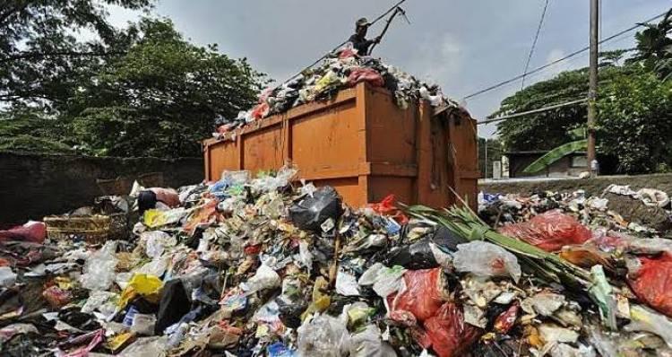 Selama Lebaran, Sampah Kota Jambi Naik Hingga 120 Ton Perhari