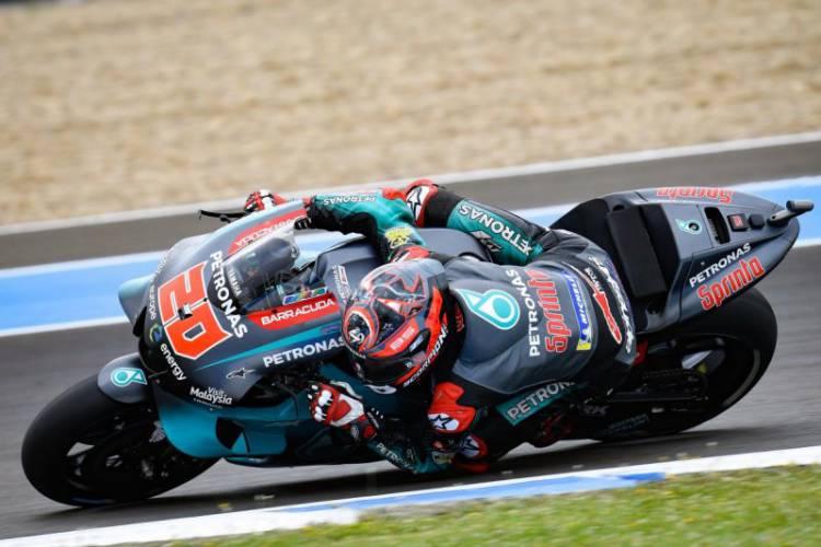 Usai Operasi Lengan, Quartararo Dinyatakan Fit Untuk GP Catalunya