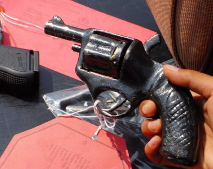 Miliki Senpi, Pekerja Illegal Drilling Diringkus Polisi
