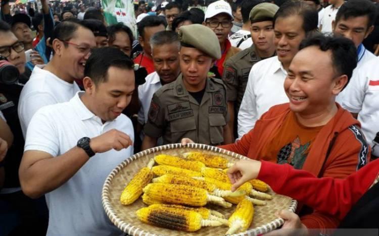 Pecahkan Rekor Muri Bakar Jagung 62 Ribu Tongkol