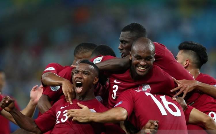 Copa Amerika, Qatar Imbangi Paraguay 2-2