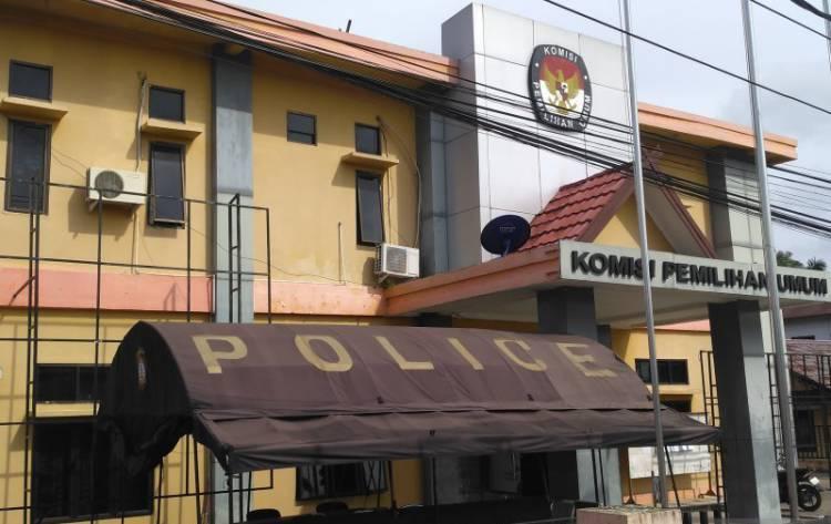 Kantor KPU Masih Dijaga Ketat Aparat Kepolisian
