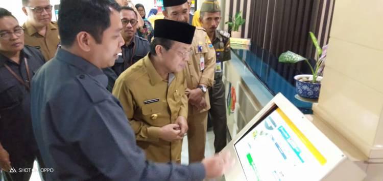 Sambut Sensus Penduduk 2020, Gubernur Jambi Kunjungi Kantor BPS