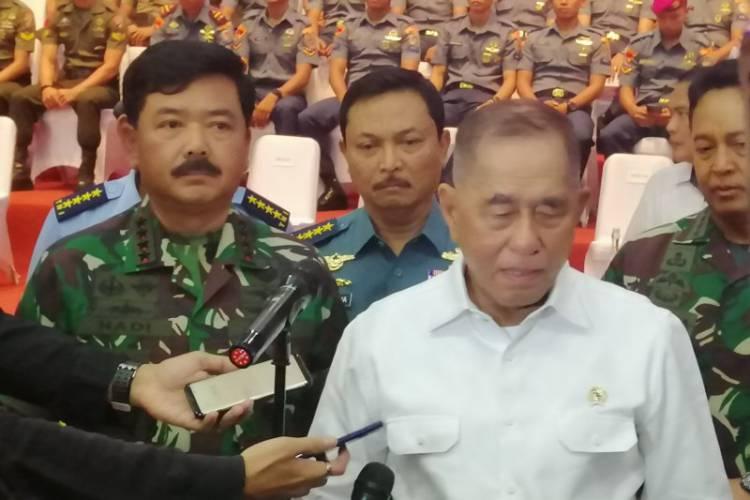 Menhan: Ada Tiga Persen Prajurit TNI Terpapar Radikalisme