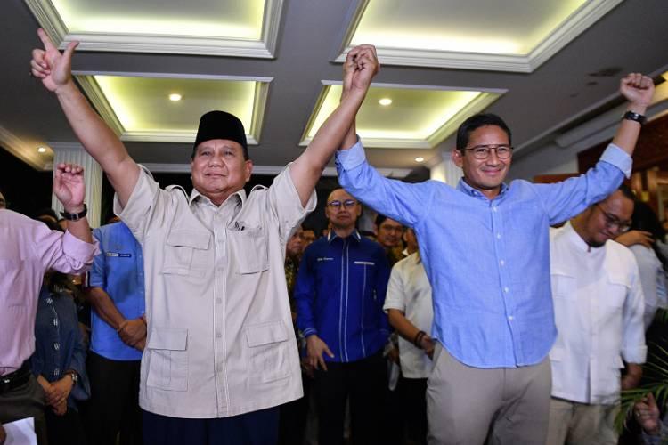 Prabowo Sebut Koalisi Indonesia Adil Makmur Kelar