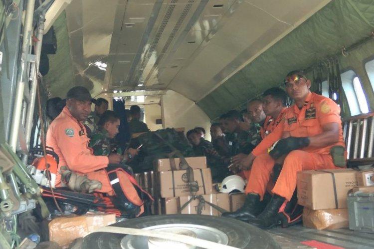 Tim Darat Masih Melakukan Penyisiran Cari Helikopter MI 17