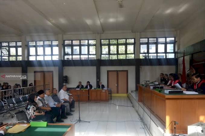 Lima Komisioner KPU Palembang Disidang Pidana Pemilu di PN