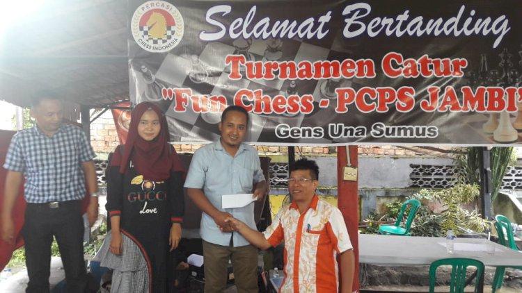 Tumbangkan Atlet Andalan, Winarno MN Juara Open Turnamen Fun Chess PCPS 2