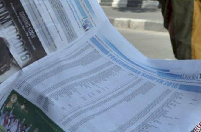 Hasil SBMPTN Diumumkan Selasa Pukul 15.00