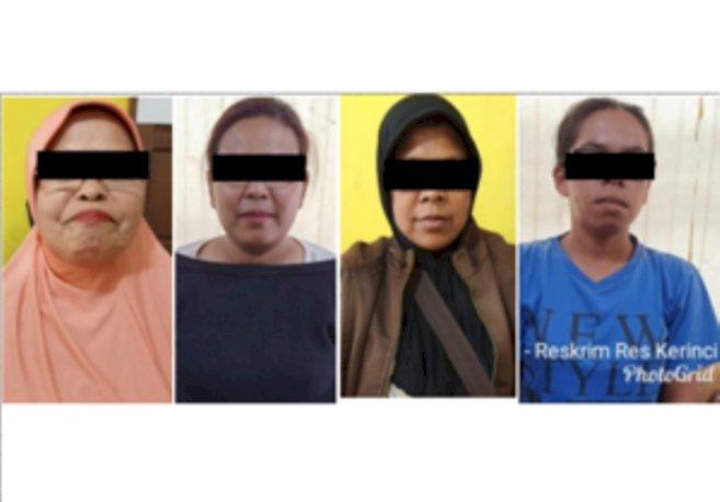 Asyik Berjudi, Nenek dan 3 Emak-Emak Ini Diamankan Polisi