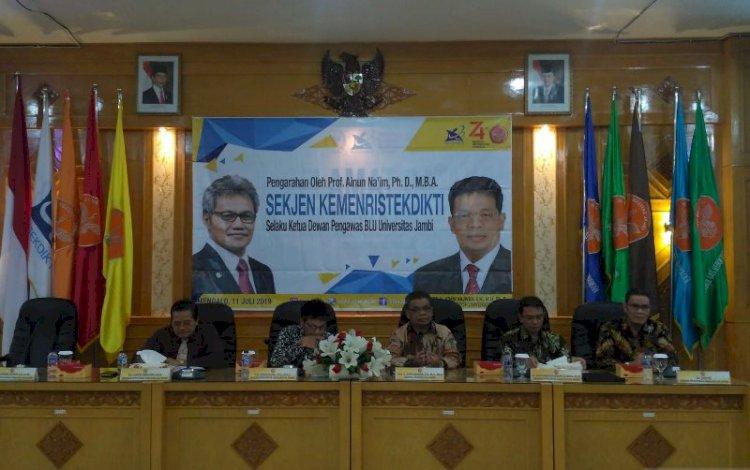Rektor Unja Minta Solusi 24 Prodi Masih Terakreditasi C