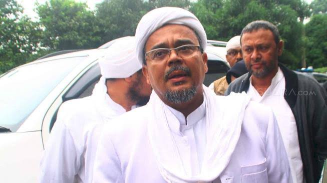 Pemerintah Tak Mau Bayar Overstay Habib Rizieq? FPI akan Galang Dana Umat