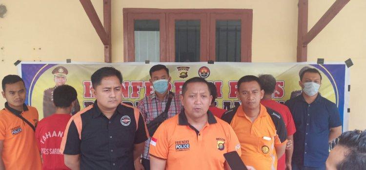 Pemilik dan Penambang PETI Diringkus Polisi Sarolangun di Teluk Kecimbung