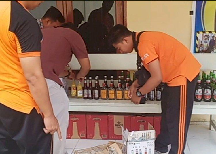Operasi Pekat, Polres Sarolangun Ungkap 51 Kasus dan Ratusan Miras Diamankan