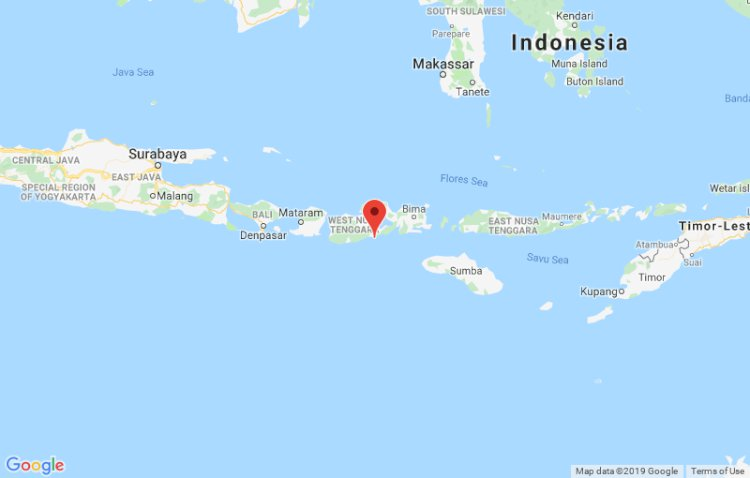 Gempa 6,9 SR Terjadi di Barat Daya Sumbawa Dirasakan Hingga Mataram