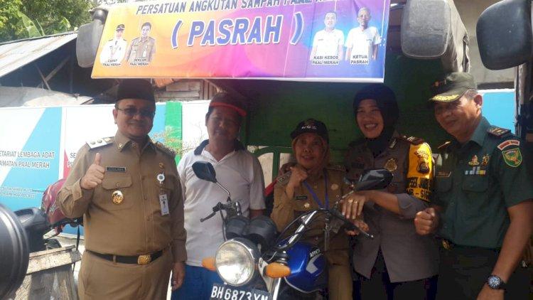 Wakil Walikota Resmikan Inovasi Pasrah di Kecamatan Pall Merah