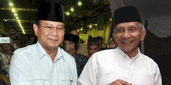 Amien Rais Bertemu Prabowo