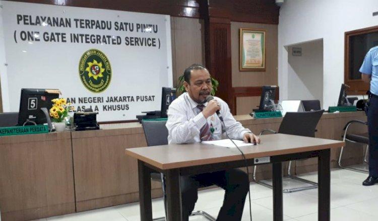 Pengacara Pukul Hakim Pengadilan Negeri Jakarta Pusat