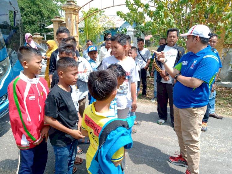 Lepas Squad SSB Kumpeh, Pata Hila: Tunjukkan Semangat Bertanding di Kampung Orang!