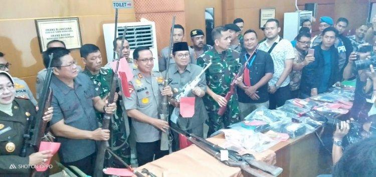 Polda Jambi Tetapkan 41 Tersangka Terhadap Kelompok SMB