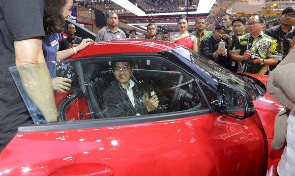 Kaesang Anak Jokowi Naksir Mobil Sport Rp 2 M