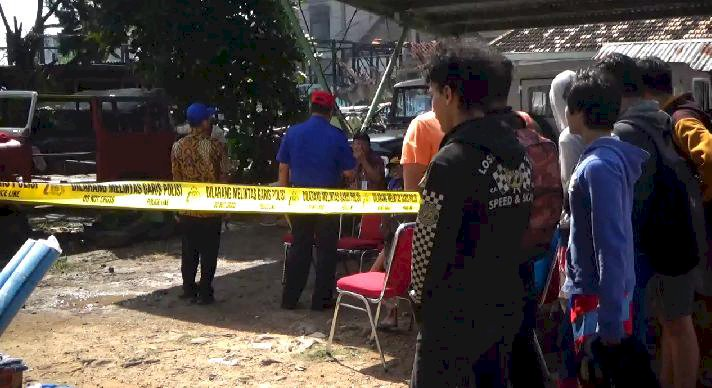 Polisi Turunkan Tim Inafis di Lokasi Kebakaran Pasar Hongkong
