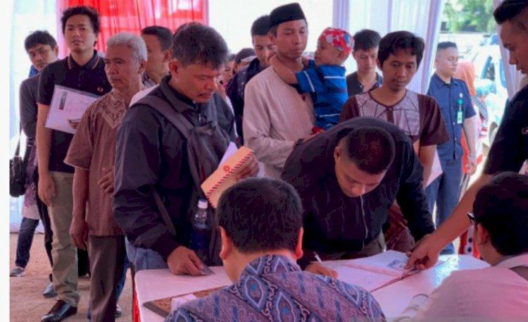 220 Warga Ajukan Permohonan Kredit Rumah DP RP0 Hari Pertama