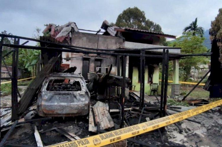 Polda Usut Kasus Rumah Wartawan Aceh Tenggara Dibakar