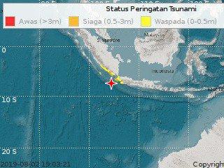 Gempa Banten Malam Ini, Belasan Wilayah Terdampak Berpotensi Tsunami