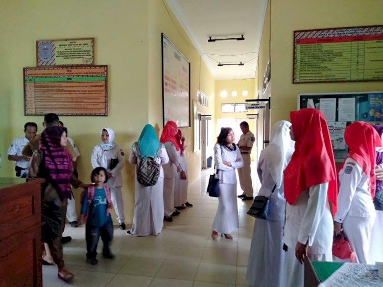 Tagih Janji, Paramedis Geruduk Dinkes Merangin