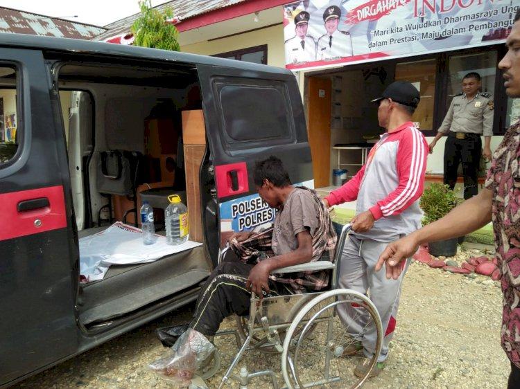 Warga Solok Sumbar Terlantar di Pos Check Point Jujuhan Bungo