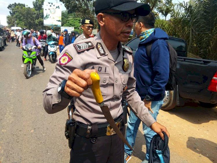 Tawuran Pelajar di Jambi, Polisi Temukan Senjata Tajam