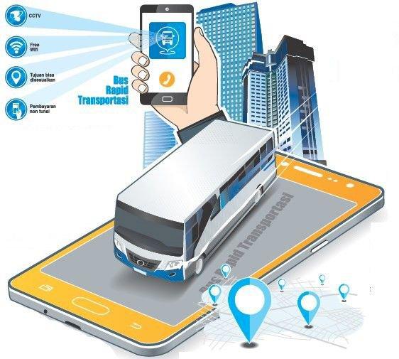 Oktober BRT Hadir di Jambi, Pengguna Cukup Pesan Lewat Aplikasi