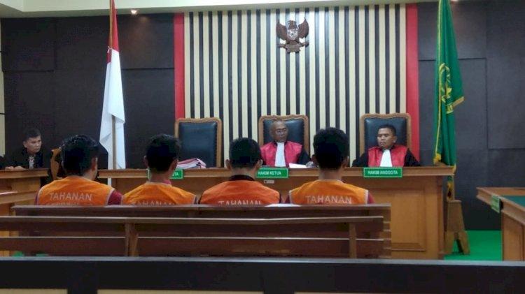 Tergiur Curi Barang Sitaan Negara, Tiga ASN Ini Divonis Hakim 7 Bulan Penjara