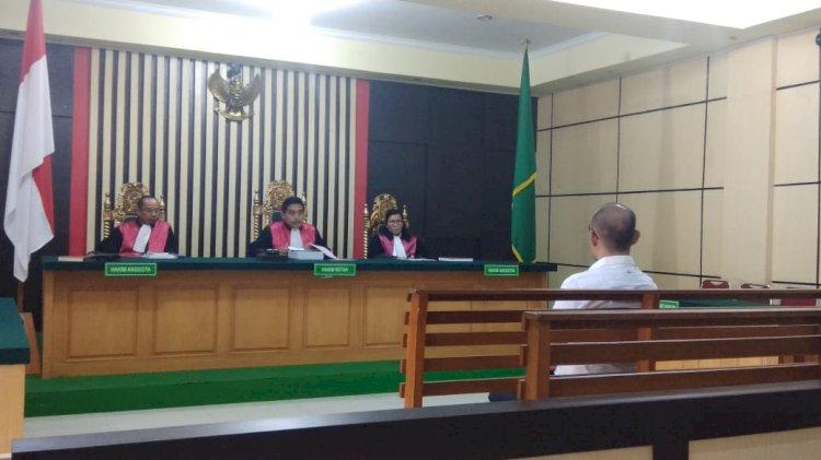 Tersangka Korupsi Taman Hijau Bungo Jalani Sidang Perdana
