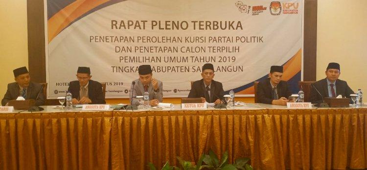 Ini Nama Anggota DPRD Terpilih Ditetapkan KPU Sarolangun