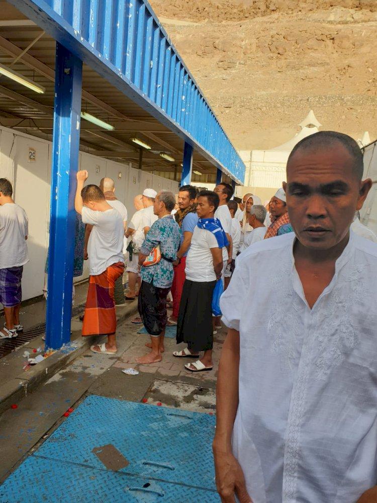Antrian Panjang, Fasilitas Kamar Mandi di Mina Dikeluhkan Jemaah Haji
