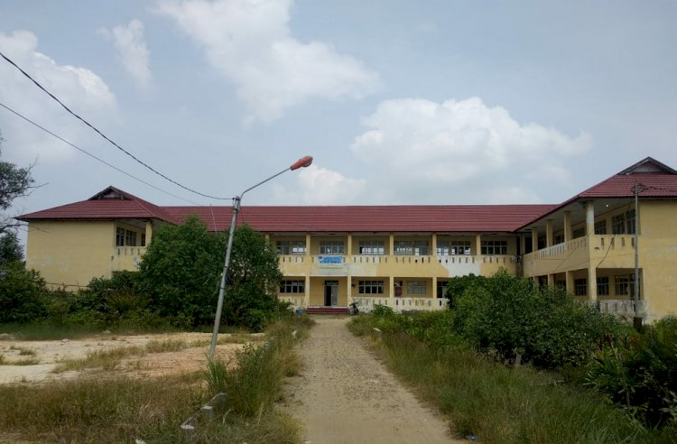 Gedung Kampus Universitas Jambi di Tungkal Terbengkalai