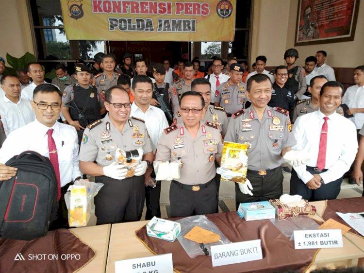 Saat Peringatan HUT RI, Warga Sumut Seludupkan Narkoba Palembang