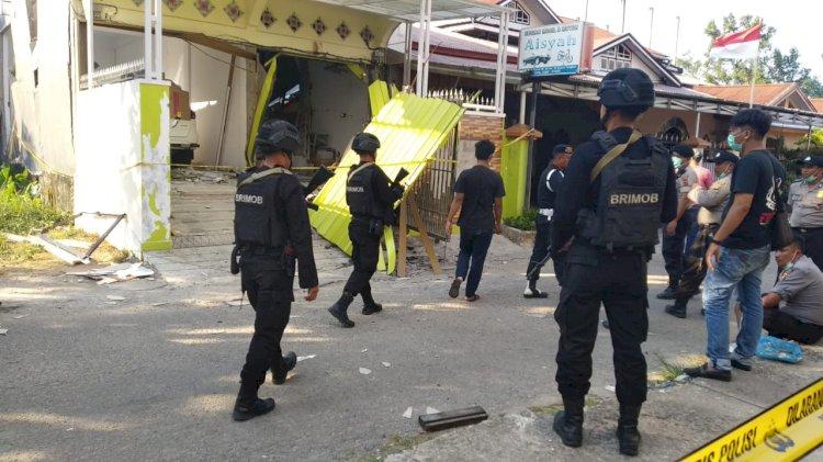 Begini Kronologi Ledakan di Jalan Sultan Thaha Menurut Kapolres Tanjabbar