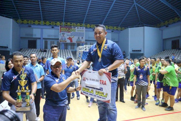 Tim Putra Polres Sarolangun Harus Puas Jadi Runner Up Kapolda Jambi Cup